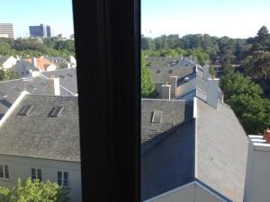 Melbourne hotel view