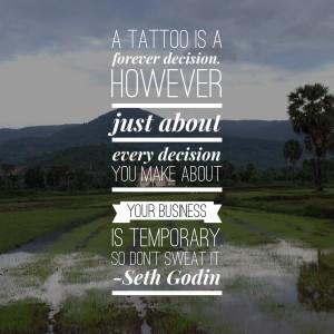 Seth Godin Change Quote
